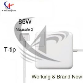 MACBOOK PRO 17 INCH APPLE 85W MAGASAFE 2 WITH LOGO HIGH PERFORMANCE LAPTOP ADAPTER CHARGER WITH CABLE