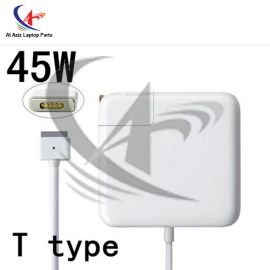 APPLE 45W MEGSAFE 2 with Logo HIGH PERFORMANCE LAPTOP ADAPTER CHARGER WITH CABLE