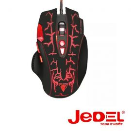 JEDEL GM830 GAMING BACKLIGHT WIRED MOUSE