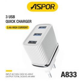 ASPOR A833 3.4A HOME CHARGER