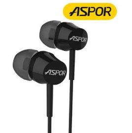 ASPOR A201 DC 3.5mm Earphone mic + volum control+ Pause Button