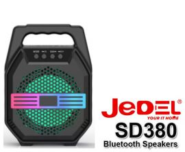JEDEL BLUETOOTH SPEAKER UK-608 Rechargeable with Mic