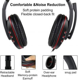 NIA PS4-488 Wired Gaming Headphone
